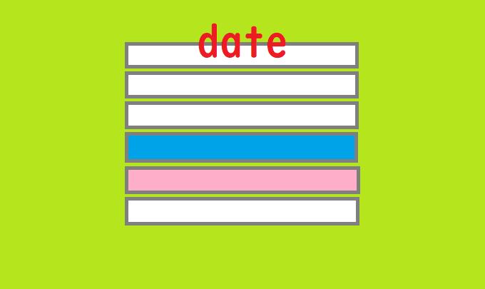 【Excel】条件付き書式を使い土日や祝日に色を付ける